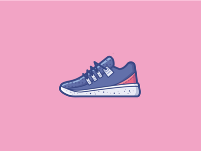 Skate shoes skate sports sport shoe branding logo ui illustration vector icon design