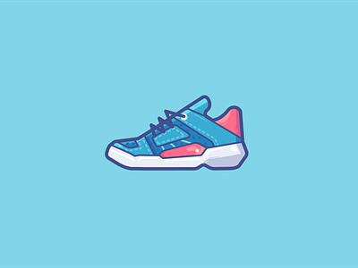 sneaker sneaker sports sport shoes ui logo illustration vector icon design