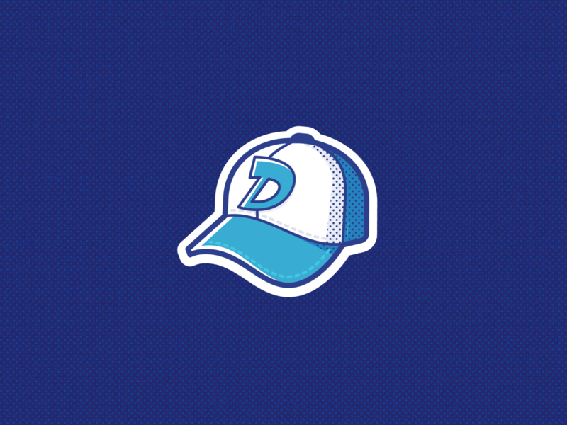 D Cap clementine thewalkingdead sports sport cap branding ui logo illustration vector icon design