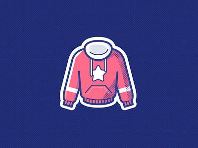 Sweater sports sport clothing cloth sweater branding logo ui illustration vector icon design