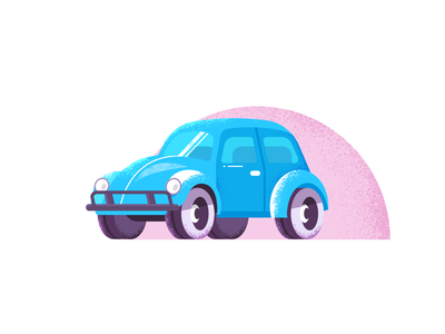 beetle traffic grain vehicle car beetle illustration vector icon design