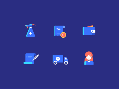 why choose crov disinfect ecommerce customer delivery cost safe payment money support iconset illustration vector icon design