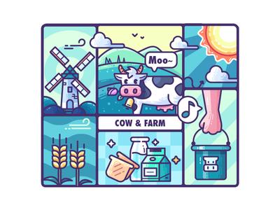 Cow & Farm