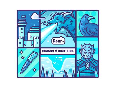 Dragon & Nightking