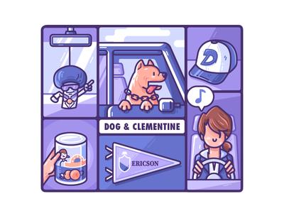 Dog & Clementine