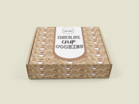 Cookie box packaging design