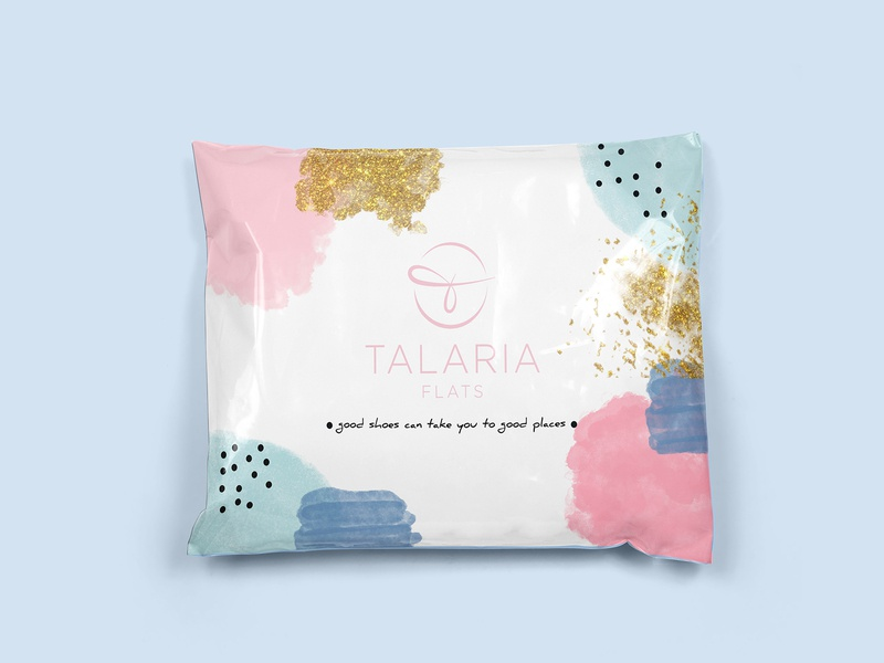 Poly Mailer Package Design packaging label design branding package design
