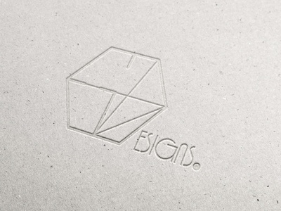 Pressed Cardboard ED Logo