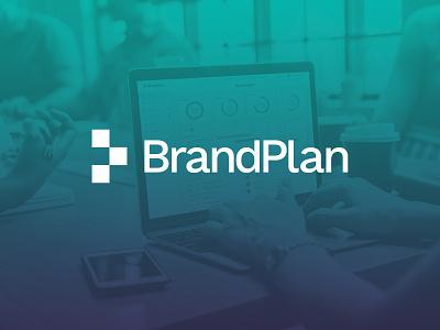 BrandPlan marketing wordmark monogram bp plan brand brandplan identity design identity branding logo design logo