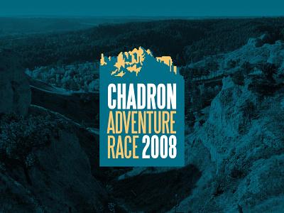 Chadron Adventure Race outdoors hills mountain event race adventure chadron identity design identity branding logo design logo