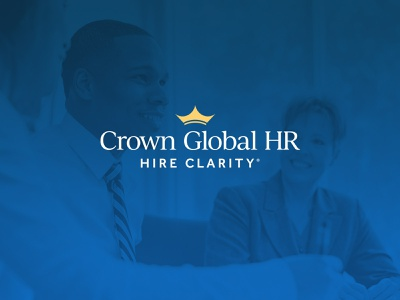 Crown Global HR consulting professional services hr global crown crown global identity design identity branding logo design logo