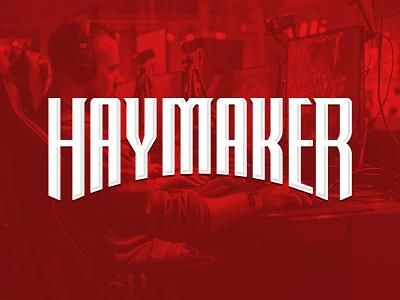 Haymaker gamer tag gamer video games gaming h wordmark haymaker identity design identity branding logo design logo