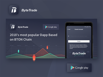 Bytetrade Google store download page