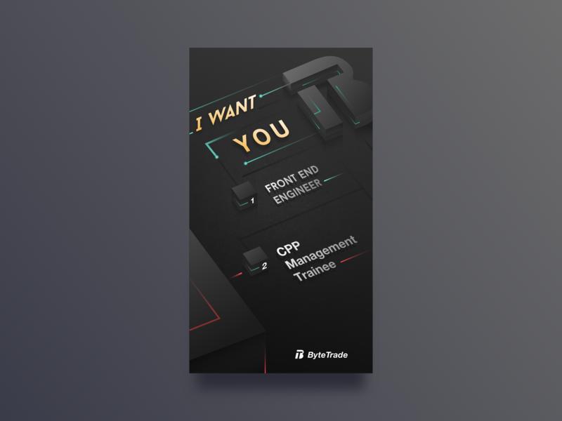 Poster Design poster recruit 设计 插图 页 数 块 黑色 ui