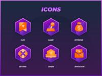 Block Chain Game Icon