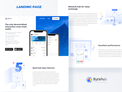 bytehub Landing Page.