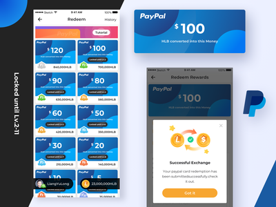 Exchange Currency Page amount of money button blue account redeem gift card unlock grade exchange payment 数 插图 blockchain 黑色 ui