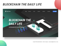Bytetrade blockchain web page