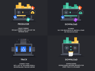 Icon Design of Block Chain Download Project stake receipts payment create upload date icon movie producer track download 设计 数 红色 块 绿色 插图 blockchain 黑色 ui