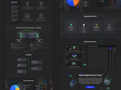 Block Chain Project Web Page Design