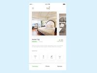 Hotel profile page