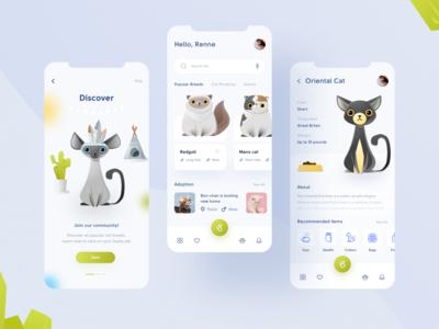 Pet app concept