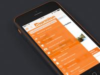 Marmiton Menu iOS7
