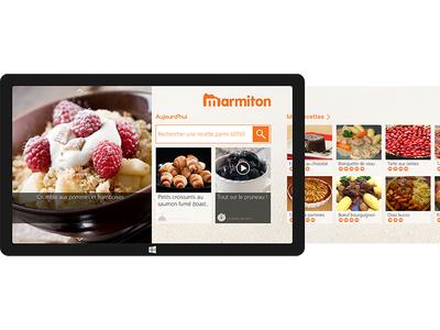 Marmiton V2 - Windows Surface 8.1