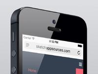 Sketch app sources menu