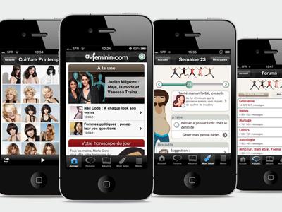 aufeminin.com - iPhone App