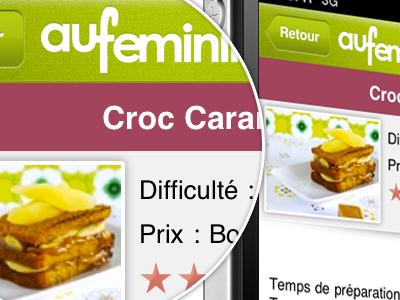 aufeminin cuisine - Recipe