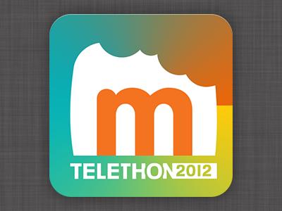 Marmiton Téléthon 2012 telethon marmiton ios retina icone fireworks vctor vector