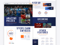 Lucozade Sport - Made To Move Landing Page