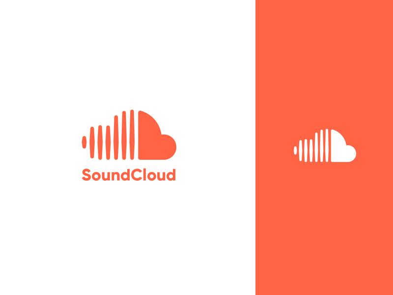 SoundCloud Concept concept redesign logo music app sound wave sound