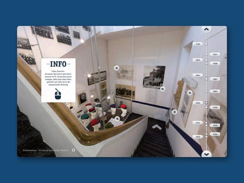 Interactive School Museum tour website museum interactive school