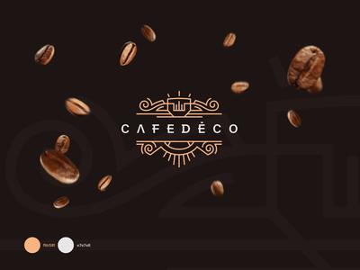 Cafe Deco Logo design