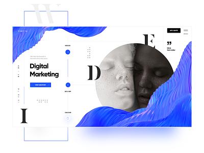 P A R T U M .  Digital Marketing Agency typography design app design inspiration website ui design landing page design branding creative web webdesign ui ux