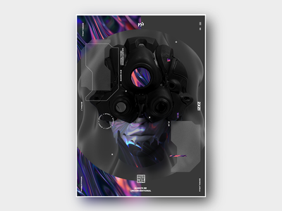 OVERDXOSE Poster Design 02 branding design inspiration typography vector graphic illustration design creative abstract poster design poster art poster