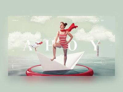 Seagull Clothes Landing Page Design Ui /Ux logo vector illustration graphic design inspiration branding creative design ui ux ecommerce clothes landing page web design web
