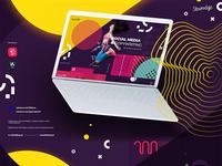 Socialmedia&Copywritig Web design