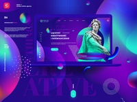 V O A victory online agency /  Web design
