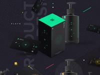 Product design green box