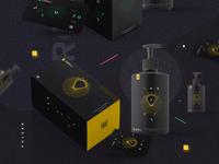Product design Yellow box