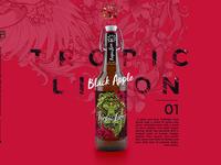 Tropic lion beer