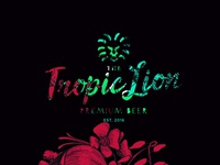Tropic Lion Logo beer