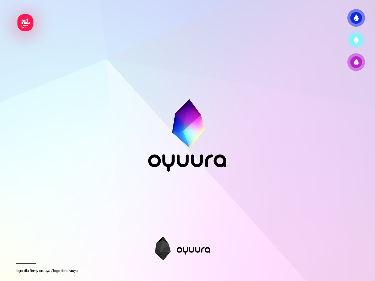 Oyuura Logo app designer graphic design brand design inspiration interactive flat creativeadobe ui ux brand logo icon branding color illustration graphic typography creative vector design