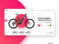 Ecommerce Website Bike shop