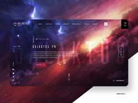 Galaktus Website design