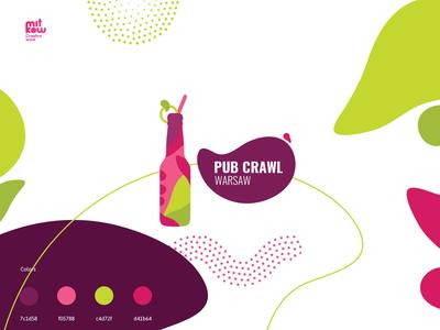 Logo redesign Pub crawl Warsaw
