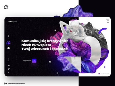 Web Design Brand concept